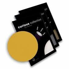 Disainpaber Curious Metallics A4/120g Super Gold 50lehte /25