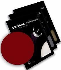 Disainpaber Curious Metallics A4/120g Red Lacquer 50lehte /25