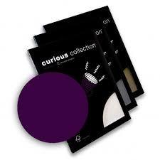 Disainpaber Curious Metallics A4/120g Violet 50lehte /25