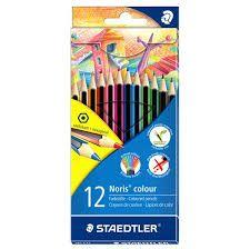 Värvipliiatsid 12 värvi Noris Colour Wopex, Staedtler /10