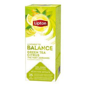 Tee Lipton Roheline tee&Tsitrus fooliumis 25tkx1,3g/pk/6