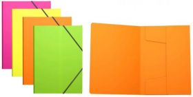 Plastmapp kummiga A4 ''Neoon'' värvivalik, Erich Krause /24