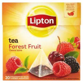 Tee Lipton Forest Fruit, metsamarja, püramiid 20tkx1,5g/pk/12