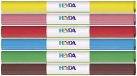Krepp-paber tumepruun 50x250cm Heyda/10EOL