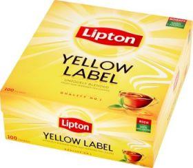 Tee Lipton Yellow Label, ümbrikuta 100tkx2g/pk/2