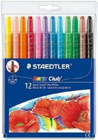 Rasvakriidid NC 12 värvi, keeratav südamik, Staedtler/10
