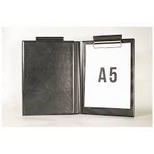 Kirjutusalus kaanega A5 pliiatsiavaga, sisekaanetaskuga, must, Prolexplast/25