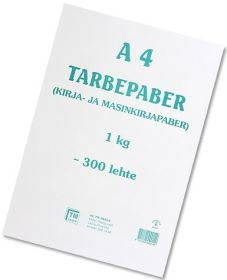 Kiloleht A4 tarbepaber TM (umbes 300l.)