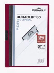 Kiilkaaned bordoo DURACLIP30, Durable/25
