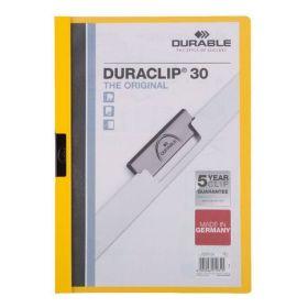 Kiilkaaned kollane DURACLIP30, Durable/25