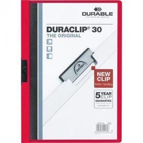 Kiilkaaned punane DURACLIP30, Durable/25