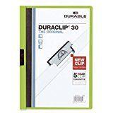 Kiilkaaned roheline DURACLIP30, Durable/25