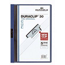 Kiilkaaned tumesinine DURACLIP30, Durable/25
