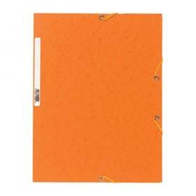 Kartongmapp kummiga A4 55504E oranz, Exacompta /25