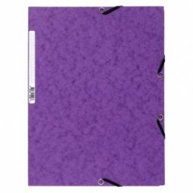 Kartongmapp kummiga A4 55508E lilla, Exacompta /25