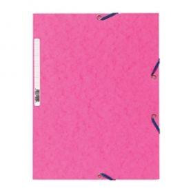 Kartongmapp kummiga A4 55520E roosa (CP), Exacompta /25