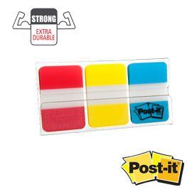 Järjehoidja Post-it 686RYB 3v.tugevad(p,k,s)/6