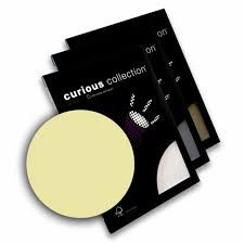 Disainpaber Curious Metallics A4/250g White Cold 10lehte