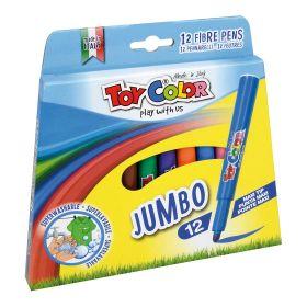 Viltpliiatsid 12v Jumbo ''Play with us'', Toy Color /12