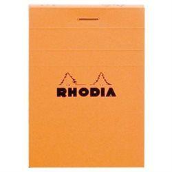 Märkmeplokk A8/80l ruut Rhodia oranž 80g, Clairefontaine /müügialusel