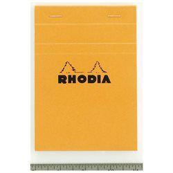 Märkmeplokk A5/80l ruut Rhodia oranž 80g, Clairefontaine /10