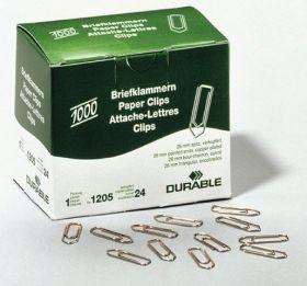 Kirjaklamber 26mm, vask 1000tk/pk, Durable /10