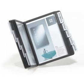 Sirvimisalus A5 Durable Vario lauale 285x305x280mm 10 taskut, must