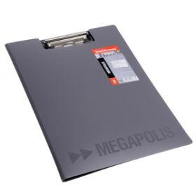 Kirjutusalus kaane+taskuga MEGAPOLIS A4 hall 5/20/120 EOL