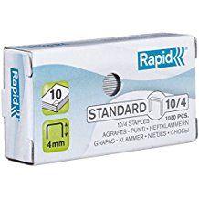 Klambrid 10/4 tsink 1000tk/pk, Rapid /20/400