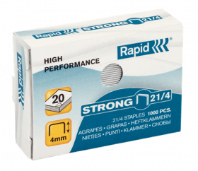 Klambrid 21/4 tsink 1000tk/pk, Strong Rapid /10