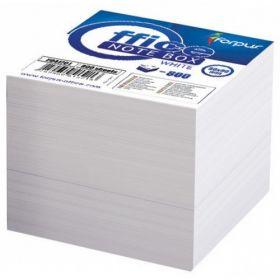 Märkmekuup Forpus 800lehte, 85x85mm, lahtised lehed, valge