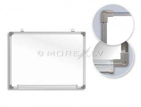 Valge tahvel Forpus 90x180cm magnetpinnaga/aluminium raamiga