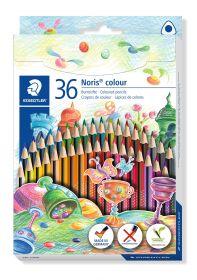 Värvipliiatsid 36 värvi Wopex Noris Coloring kolmetahulised, Staedtler /5