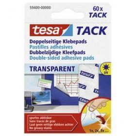Kleeppadjad TACK 60tk läbipaistvad Tesa EOL